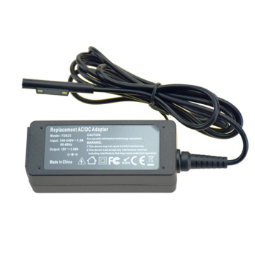 30W 12V 2.58A Tablet Charger for Microsoft