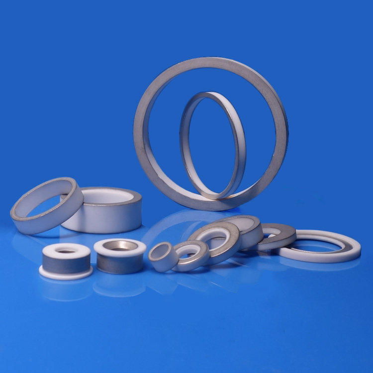 Metallized Ceramic Rings