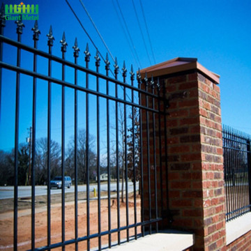 Forged Spear Tops Ornamental Wrought Iron Fence