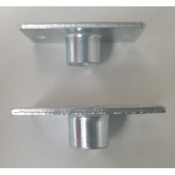 Carbon steel zinc plated square weld nuts