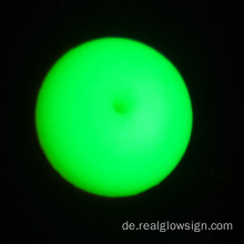 Realglow Photoluminescent Demo Gelbgrün