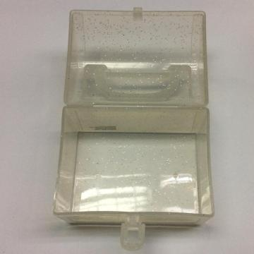 Plastic mini portable transparent storage box