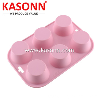 Medium Pudding silikon Mold Pan untuk Muffin