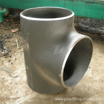 "Carbon Steel Sch40 18x10"" Tee Connector"
