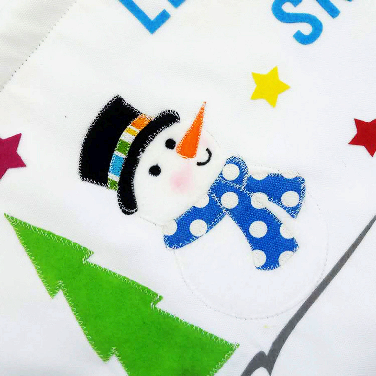 snowman Christmas advent calendar