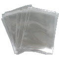 clear cellophane bag self seal cut out