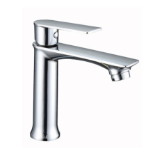 Bathroom Chromed Sink Faucets Single Handle