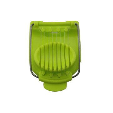 Multi-functional plastic egg slicer for kitchen tools