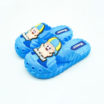 Kids Closed Toe Non-slip Slippers Shoes
