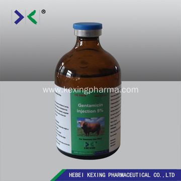 Gentamicin Injection 5% Cattle