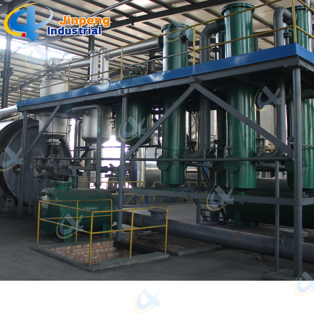 Waste Plastic and Tyre Pyrolysis Plant