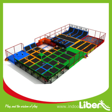 Safe children trampoline sport