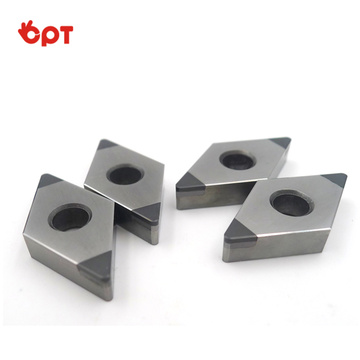 CBN cutting insert for hardened steel