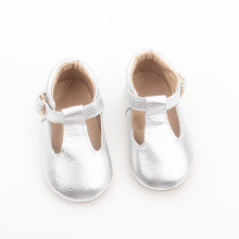 New Fashion Christmas Leather Baby Dress Shoes