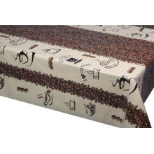 Pvc Printed fitted table covers Heat Resistant