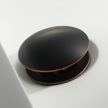 Copper ORB Pop Up Drain Basin Water Drain