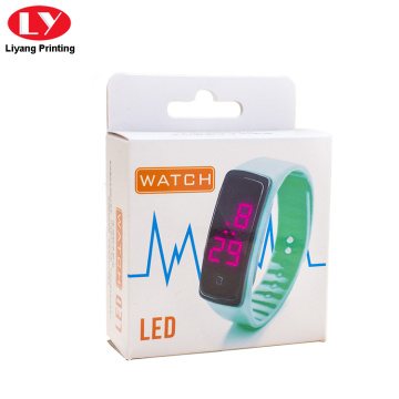 Paper packaging led watch hanging box