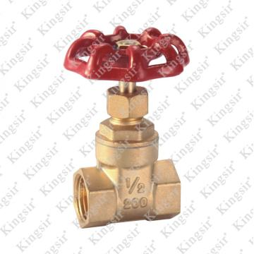 Factory Price for Water Gate Valves BRASS GATE VALVE supply to Romania Exporter