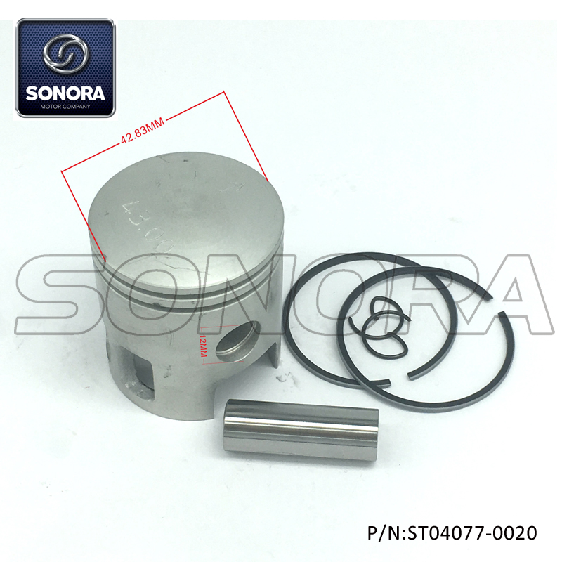 ST04077-0020 Piston kit for YAMAHA DT70 47MM (1)