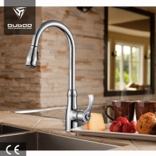 Deck Mounted Single Lever Polished Chrome Kitchen Faucets