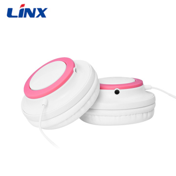 Christmas gift cute design glowing headphone for Kids