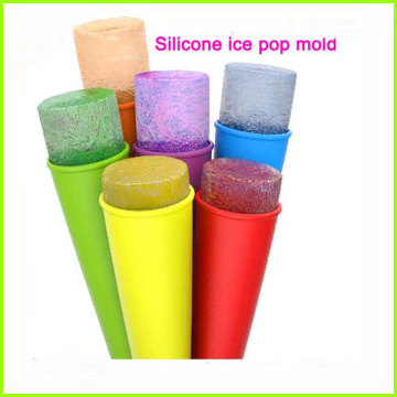 Silicone Ice Pop Molds and Ice Pop Maker