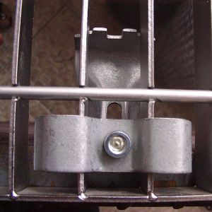 Steel Grating Installation Accessories Securing Clip
