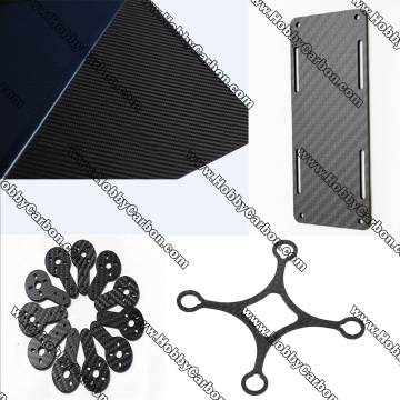 Custom made carbon fiber sheet/panel cnc cutting services