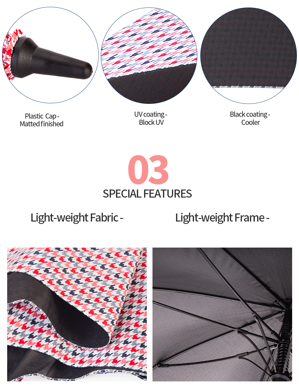 windproof waterproof umbrella
