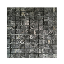 Fast Delivery for Marble Mosaic,Marble Mosaic Tile,Marble Mosaic Floor Tile Manufacturer in China Black Marble Stone Mosaic Tiles for Interior Wall supply to Italy Manufacturers