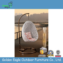 Hotel Furniture Aluminum Frame Patio Rattan Swing