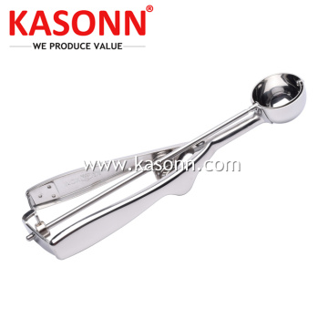 Mirror Stainless Steel Melon Digging Scoop
