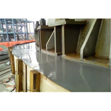High fluidity reinforced epoxy resin grout