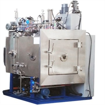 Industrial pharmaceutical continuous freeze dryer