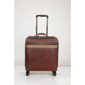 Reliable for PU Business Travel Trolley Luggage Vintage Caster Boarding Luggage export to Philippines Supplier