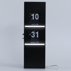 Leading for Decorative Wall Lights,Decorative Lights,Wall Art Decor Manufacturer in China Flip Clock with Decorative Light for Home Decoration supply to Indonesia Supplier