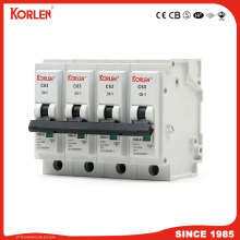 KORLEN KNB6-63 10ka Mini Circuit Breaker Plug-in Type MCB IEC/EN60898