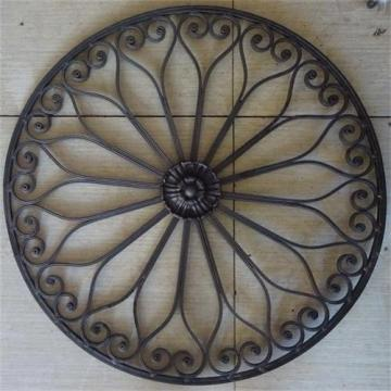 Discountable price for Hand Forged Steel Balusters, newel posts, rosettes, gate handles, gate lock plate, balls, basket, grapes etc. Decorative Wrought Iron Panels supply to Pakistan Importers