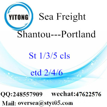 Shantou Port LCL Consolidation To Portland