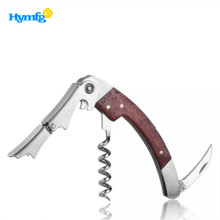 China for Corkscrew Can Opener Wooden Handle Corkscrew for Wine Bottle Opener Best supply to South Korea Manufacturers