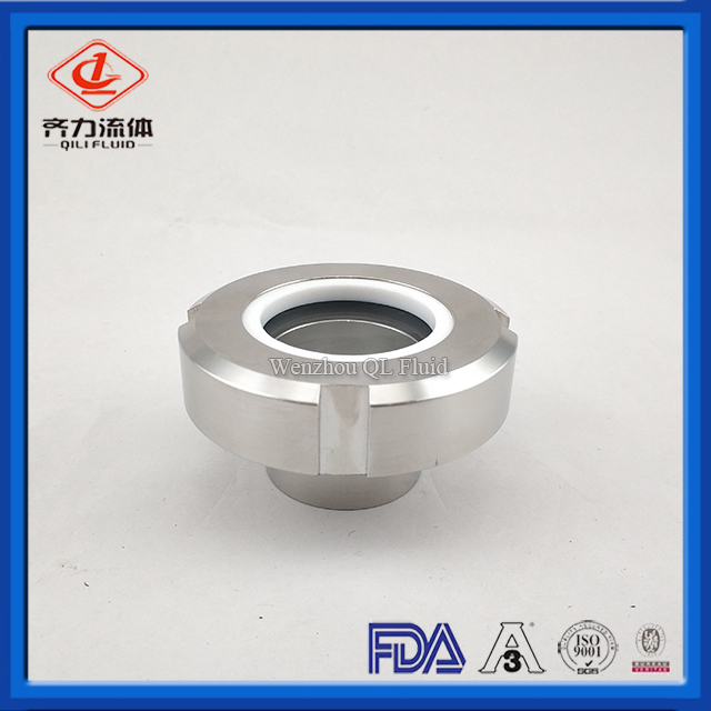 Tank Fittings Weld Inline Sight Glass Union Type