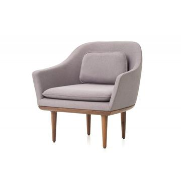 China Supplier for Supply Replica Lounge Chair,Replica Gubi Beetle Lounge Chair,Replica Plywood Lounge Chair to Your Requirements Lunar Lounge Chair modern comfortable lounge chair supply to Poland Suppliers