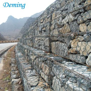 Rock Basket Wire Mesh/Australia Woven Gabion Box Price