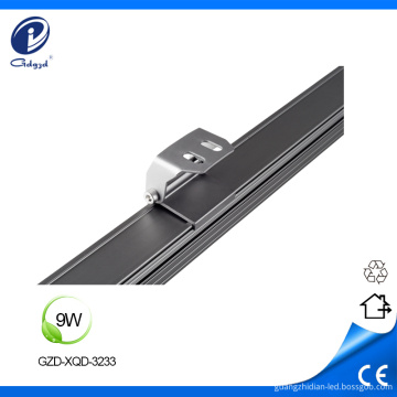 9W aluminum landscape outdoor IP67 wall washer fixture