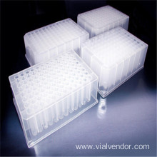 Plastic 96 Deep Well Plates for Lab