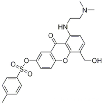 8-((2-(diMethylaMino)ethyl)aMino)-5-(hydroxyMethyl)-9-oxo-9H-xanthen-2-yl 4-Methylbenzenesulfonate CAS 86456-22-6