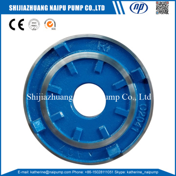 Quality for Slurry Pump Wet Parts Slurry Pump Frame Plate Liner Insert supply to India Importers