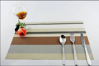 Stripe series of household business dining mat decoration5