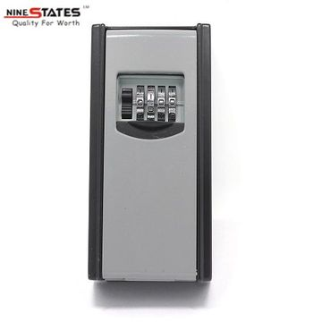 Wholesale Price for Key Storage Lock Box Portable 4-digit Combination Key Storage Lock Box export to Italy Suppliers
