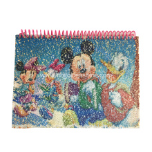 Colorful Beads And Sequins Notebook